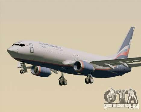 Boeing 737-8LJ Aeroflot - Russian Airlines для GTA San Andreas вид сбоку