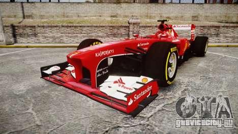 Ferrari F138 v2.0 [RIV] Massa TSD для GTA 4