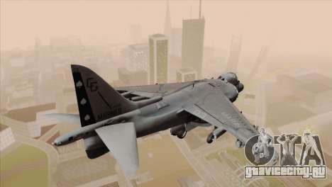 EMB AV-8 Harrier II USA NAVY для GTA San Andreas вид слева
