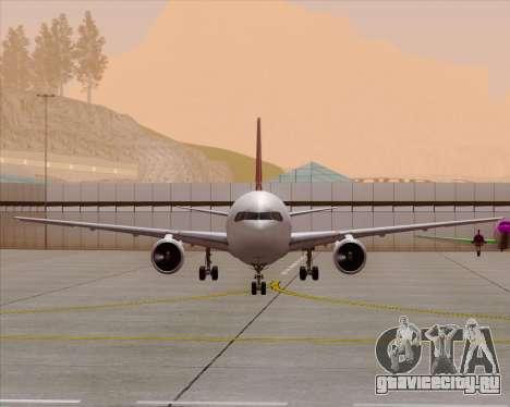 Boeing 767-300ER Qantas (Old Colors) для GTA San Andreas салон