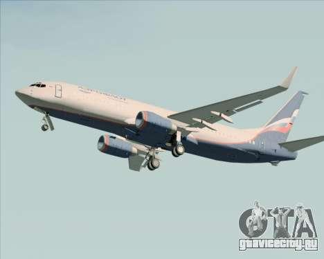Boeing 737-8LJ Aeroflot - Russian Airlines для GTA San Andreas вид сверху