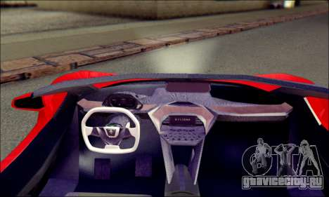 Specter Roadster 2013 для GTA San Andreas вид сзади слева