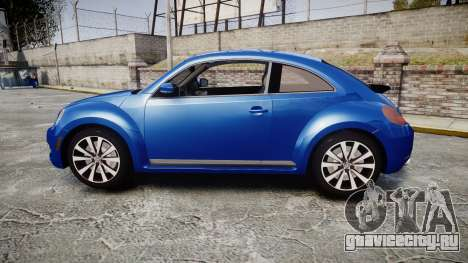 Volkswagen Beetle A5 Fusca для GTA 4 вид слева