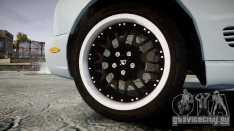 Bentley Arnage T 2005 Rims1 Black для GTA 4 вид сзади