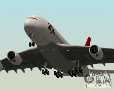 Airbus A380-800 Japan Airlines (JAL) для GTA San Andreas колёса