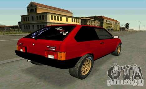 ВАЗ 2108 Turbo-TAZ для GTA San Andreas вид слева