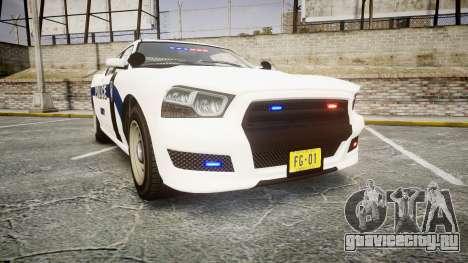 GTA V Bravado Buffalo Liberty Police [ELS] Slick для GTA 4