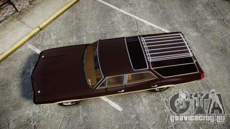 Oldsmobile Vista Cruiser 1972 Rims2 Tree5 для GTA 4 вид справа