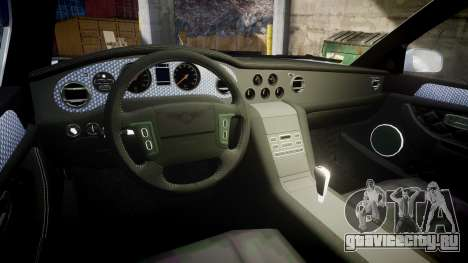 Bentley Arnage T 2005 Rims1 Chrome для GTA 4 вид изнутри
