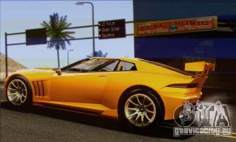 Invetero Coquette для GTA San Andreas вид слева