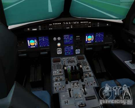 Airbus A321-200 US Airways для GTA San Andreas салон