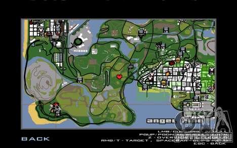Новый дом CJ в Angel Pine для GTA San Andreas пятый скриншот
