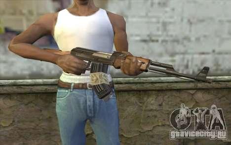 AK47 from Firearms v2 для GTA San Andreas третий скриншот