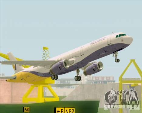 Airbus A321-200 Monarch Airlines для GTA San Andreas