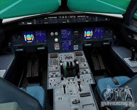 Airbus A321-200 Saudi Arabian Airlines для GTA San Andreas салон