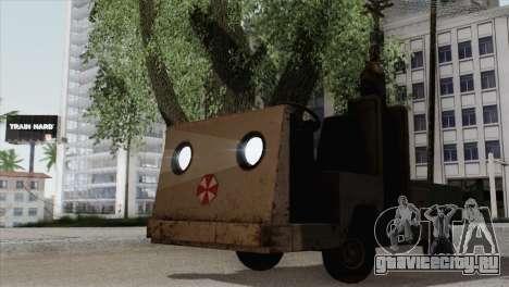 Umbrella Cart для GTA San Andreas
