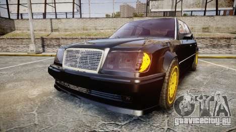 Mercedes-Benz E500 1998 Tuned Wheel Gold для GTA 4