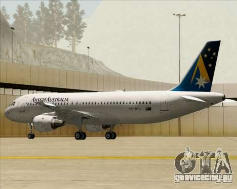 Airbus A320-200 Ansett Australia для GTA San Andreas колёса