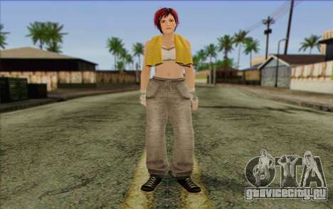 Mila 2Wave from Dead or Alive v15 для GTA San Andreas