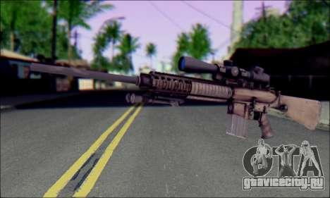 M110 с Оптическим прицелом для GTA San Andreas