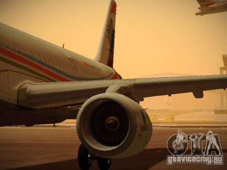 Airbus A321-232 Middle East Airlines для GTA San Andreas колёса