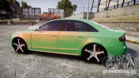 Audi S4 2010 FF Edition для GTA 4 вид слева