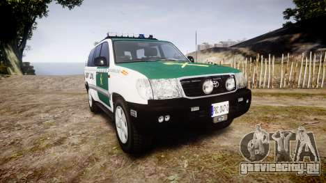 Toyota Land Cruiser Guardia Civil Cops [ELS] для GTA 4