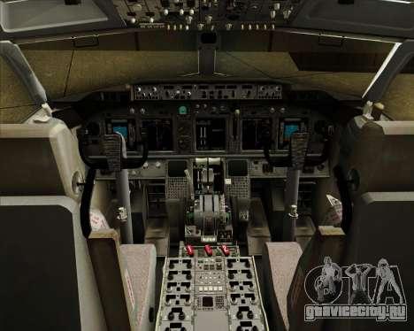 Boeing 737-800 American Airlines для GTA San Andreas салон