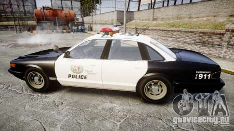 Vapid Police Cruiser MX7000 для GTA 4 вид слева