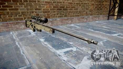 Снайперская винтовка L96A1 Magnum для GTA 4