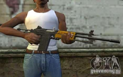 IMI Galil v2 для GTA San Andreas третий скриншот