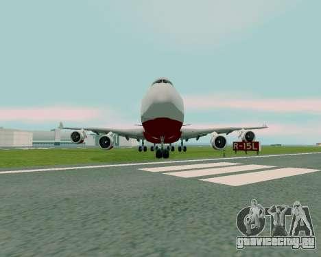 FlyUS для GTA San Andreas вид справа