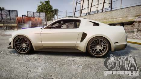 Ford Mustang GT 2014 Custom Kit PJ2 для GTA 4 вид слева