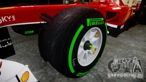 Ferrari F138 v2.0 [RIV] Alonso TIW для GTA 4 вид сзади