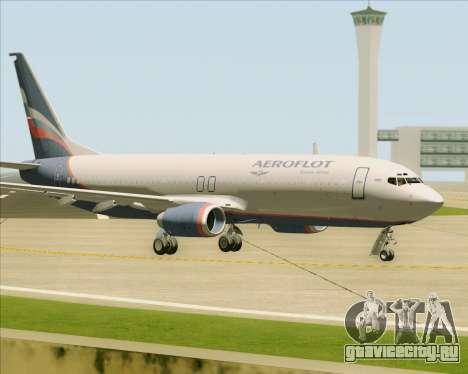Boeing 737-8LJ Aeroflot - Russian Airlines для GTA San Andreas вид изнутри