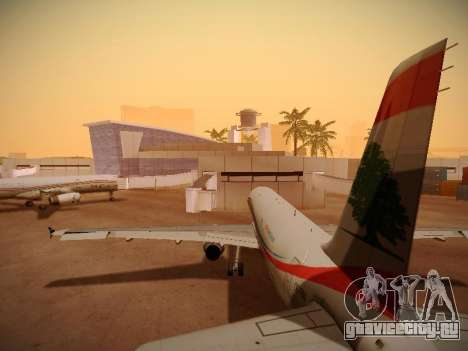 Airbus A321-232 Middle East Airlines для GTA San Andreas