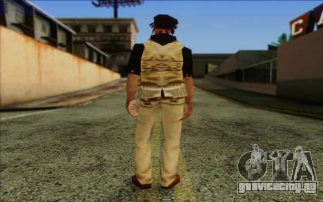 Yardies from GTA Vice City Skin 2 для GTA San Andreas второй скриншот