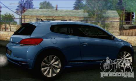 Volkswagen Scirocco 2011 для GTA San Andreas вид слева