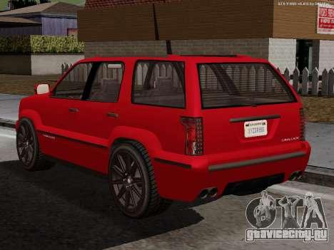 Albany Cavalcade для GTA San Andreas вид слева