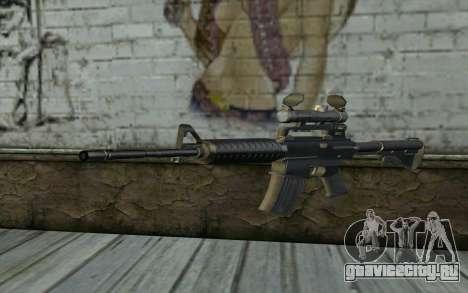 M4 from Hitman 2 для GTA San Andreas