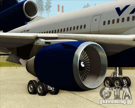 McDonnell Douglas DC-10-30 VARIG для GTA San Andreas колёса