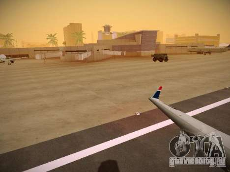 Bombardier CRJ-700 US Airways Express для GTA San Andreas двигатель