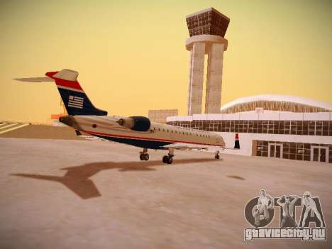 Bombardier CRJ-700 US Airways Express для GTA San Andreas вид справа