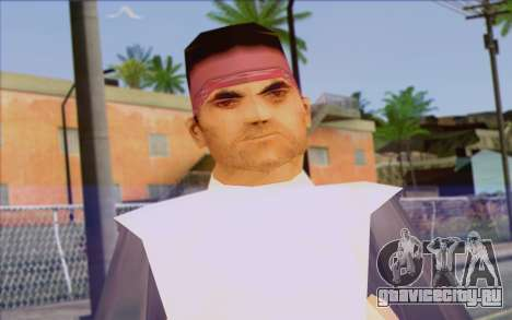 Cuban from GTA Vice City Skin 2 для GTA San Andreas третий скриншот