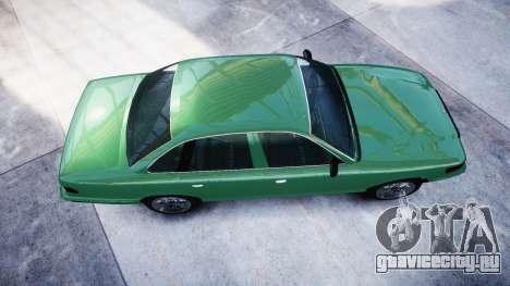 GTA V Vapid Stanier для GTA 4 вид справа