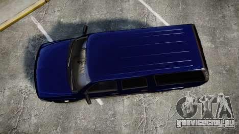 Chevrolet Suburban Undercover 2003 Grey Rims для GTA 4 вид справа