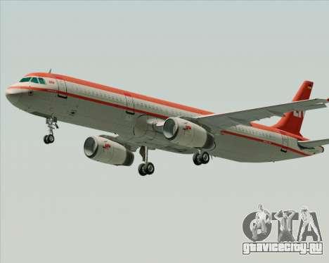 Airbus A321-200 LTU International для GTA San Andreas вид сверху
