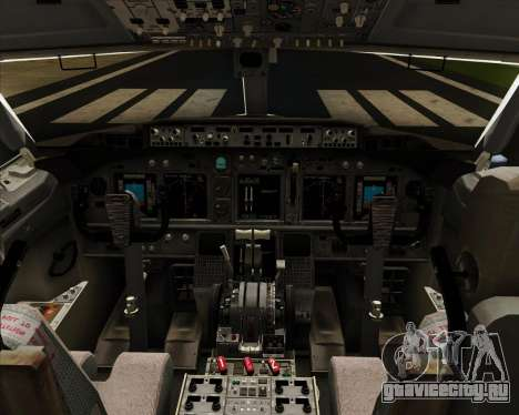Boeing 737-8LJ Aeroflot - Russian Airlines для GTA San Andreas салон