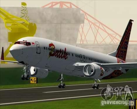 Boeing 737-800 Batik Air для GTA San Andreas колёса