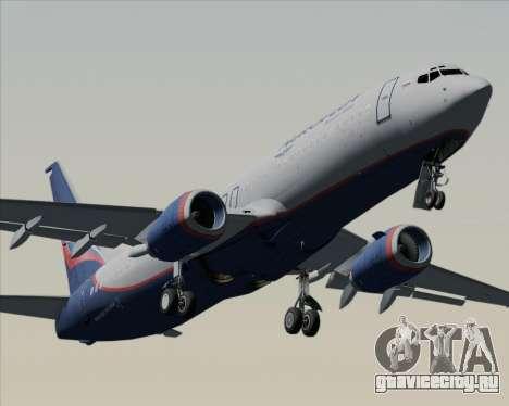Boeing 737-8LJ Aeroflot - Russian Airlines для GTA San Andreas двигатель